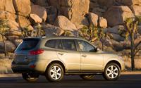2009 Hyundai Santa Fe, Back Right Quarter View, exterior, manufacturer
