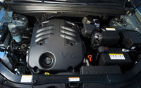2009 Hyundai Santa Fe, Engine View, engine, manufacturer