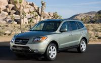 2009 Hyundai Santa Fe, Front Left Quarter View, exterior, manufacturer