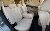 2009 Hyundai Santa Fe, Interior Back Seat View, exterior, manufacturer
