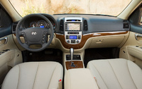 2009 Hyundai Santa Fe, Interior Front Dashboard View, manufacturer, interior
