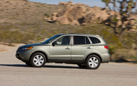 2009 Hyundai Santa Fe, Left Side View, exterior, manufacturer
