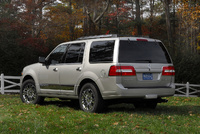 2009 Lincoln Navigator, Back Left Quarter View, manufacturer, exterior
