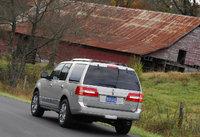 2009 Lincoln Navigator, Back Left Quarter View, exterior, manufacturer