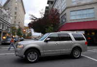 2009 Lincoln Navigator, Left Side View, exterior, manufacturer