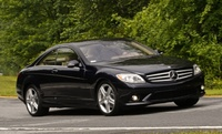 2009 Mercedes-Benz CL-Class CL550 4MATIC, Front Right Quarter View, exterior, manufacturer