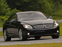 2009 Mercedes-Benz CL-Class CL 550 4MATIC, Front Right Quarter View, exterior, manufacturer