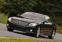 2009 Mercedes-Benz CL-Class CL 550 4MATIC, Front Left Quarter View, exterior, manufacturer
