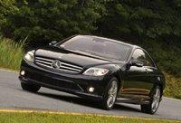 2009 Mercedes-Benz CL-Class CL550 4MATIC, Front Left Quarter View, exterior, manufacturer