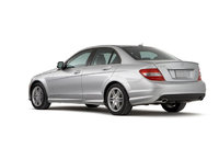 2009 Mercedes-Benz C-Class, Back Left Quarter View, exterior, manufacturer
