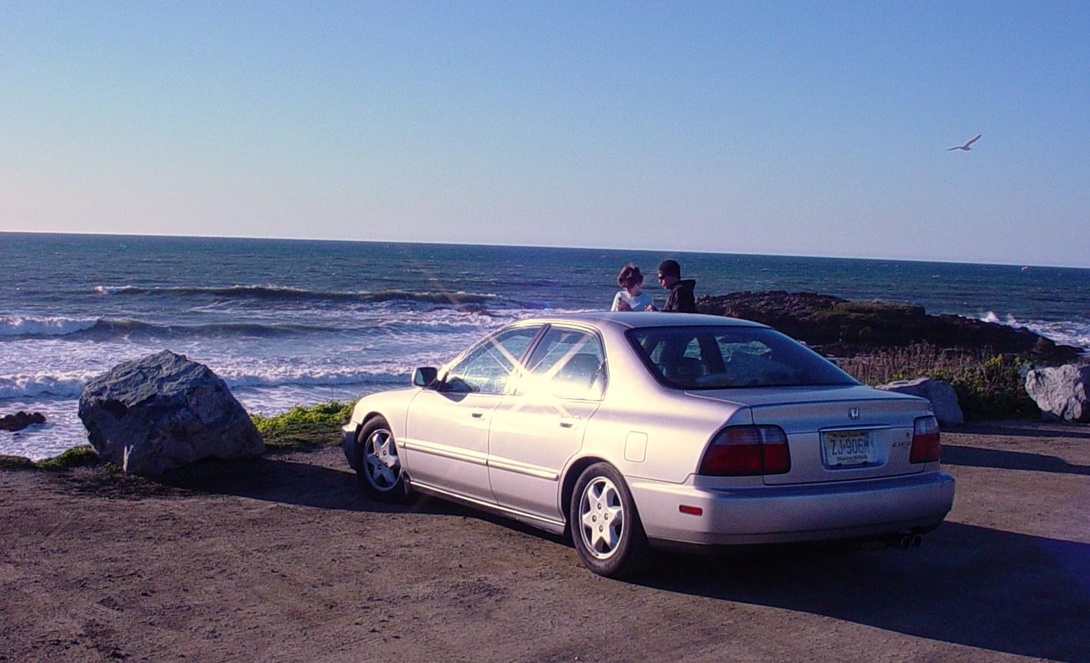 1996 Honda Accord EX V6, 1996 Honda Accord 4 Dr EX V6 Sedan picture, exterior