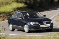 2009 Volkswagen Passat, Front Right Quarter View, manufacturer, exterior