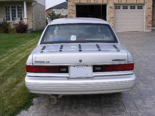 1993 Mercury Topaz 4 Dr GS Sedan, 1993 Mercury Topaz LS V6, exterior