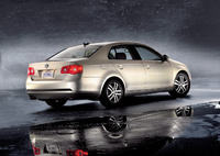 2009 Volkswagen Jetta, Back Right Quarter View, manufacturer, exterior