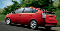 2009 Toyota Prius, Back Left Quarter View, manufacturer, exterior
