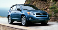 2009 Toyota RAV4, Front Right Quarter View, exterior, manufacturer