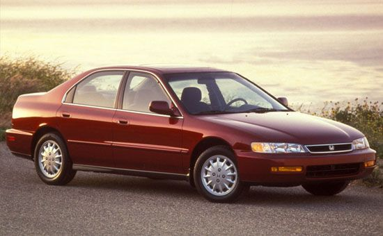 1996 Honda Accord 4 Dr LX Sedan picture
