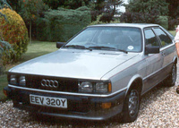 1982 Audi Coupe Overview