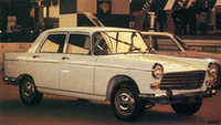 1973 Peugeot 404 Overview