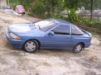 1994 Hyundai Scoupe Overview