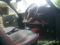 1969 Ford Capri picture, interior