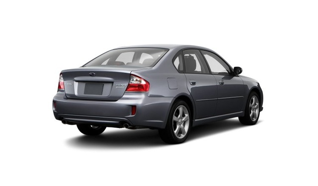 2009 Subaru Legacy, Back Right Quarter View, exterior, manufacturer