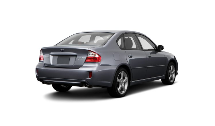 2009 Subaru Legacy, Back Right Quarter View, manufacturer, exterior