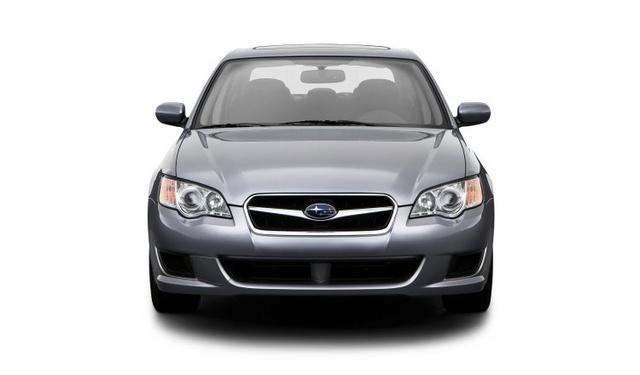 2009 Subaru Legacy, Front View, exterior, manufacturer