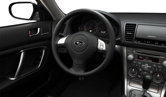 2009 Subaru Legacy, Interior Front View, interior, manufacturer