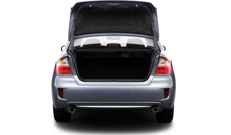 2009 Subaru Legacy, Trunk View, exterior, manufacturer