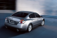 2009 Nissan Altima, Back Right Quarter View, manufacturer, exterior