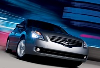 2009 Nissan Altima, Front Right Quarter View, exterior, manufacturer