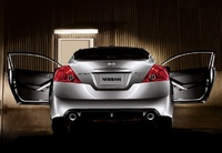2009 Nissan Altima Coupe, Back View, manufacturer, exterior