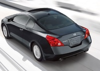 2009 Nissan Altima Coupe, Back Left Quarter View, manufacturer, exterior