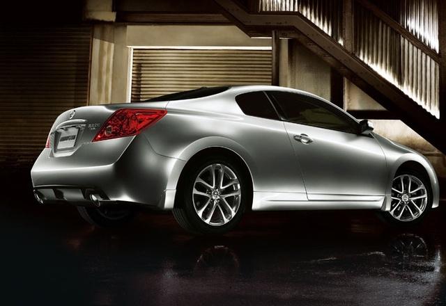 2009 Nissan Altima Coupe, Back Right Quarter View, exterior, manufacturer