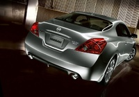 2009 Nissan Altima Coupe, Back Right Quarter View, exterior, manufacturer