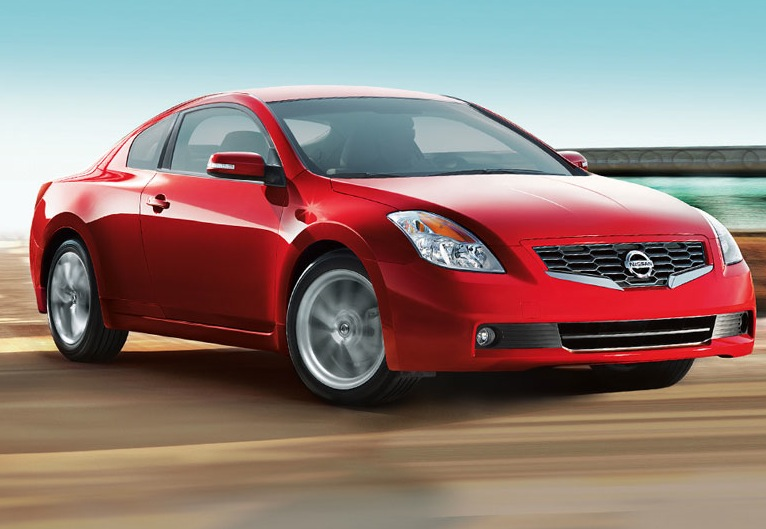 2009 Nissan Altima Coupe, Front Right Quarter View, manufacturer, exterior