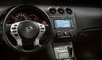 2009 Nissan Altima Coupe, Interior Dash View, manufacturer, interior