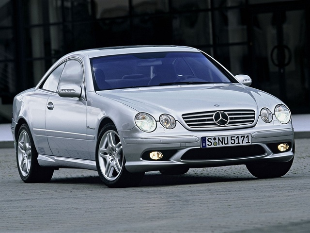 Picture of 2004 Mercedes-Benz CL-Class CL 55 AMG Coupe