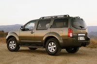 2009 Nissan Pathfinder, Back Left Quarter View, exterior, manufacturer, gallery_worthy