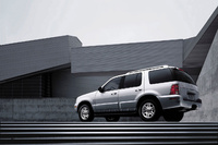 2009 Mercury Mountaineer, back Left Quarter View, exterior, manufacturer