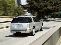 2009 Mercury Mountaineer, Back Right Quarter View, manufacturer, exterior