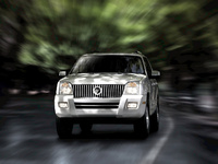 2009 Mercury Mountaineer, Front View, exterior, manufacturer