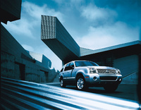 2009 Mercury Mountaineer, Front Right Quarter View, manufacturer, exterior