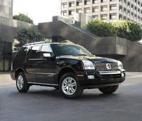 2009 Mercury Mountaineer, Front Right Quarter View, exterior, manufacturer
