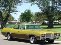 1972 Oldsmobile Vista Cruiser Overview