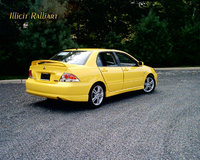 2004 Mitsubishi Lancer Ralliart Dubbed Picachu for her color, AND the fact that if she didnt like someone, she shocked the ish outta them., exterior, gallery_worthy
