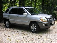 2005 Kia Sportage EX V6 4WD picture, exterior