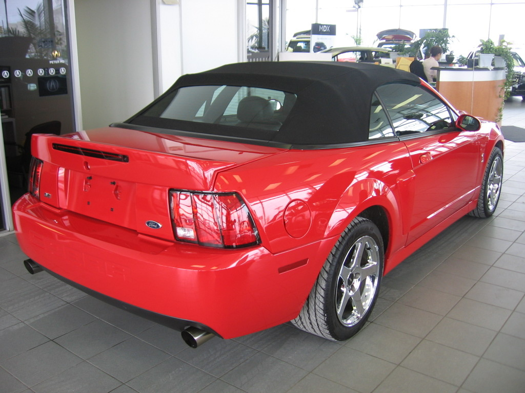 Ford mustang svt cobra questions what kind of rear suspension what kind of rear suspension does a 20032004 svt cobra have sciox Images
