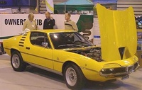 1974 Alfa Romeo Montreal Overview